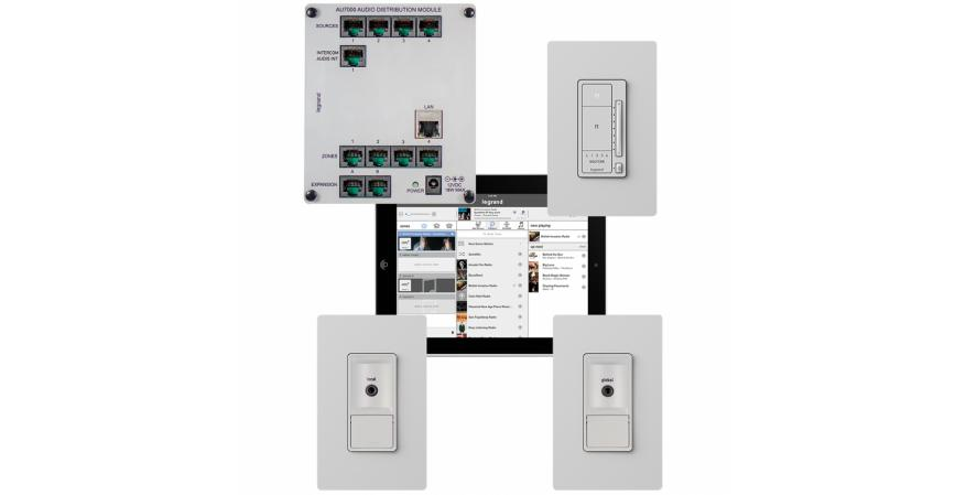 Legrand Intuity home automation digital audio subsystems