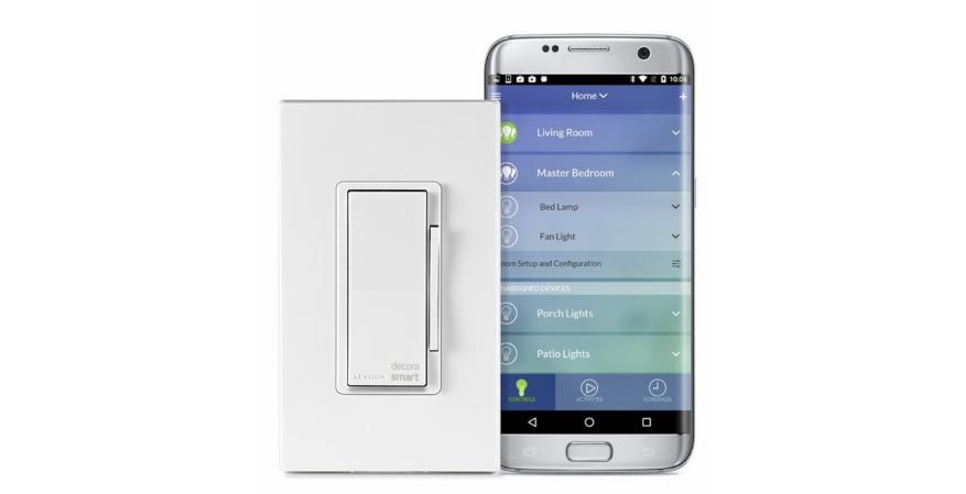 Leviton Decora smart switch with Wi-Fi and app