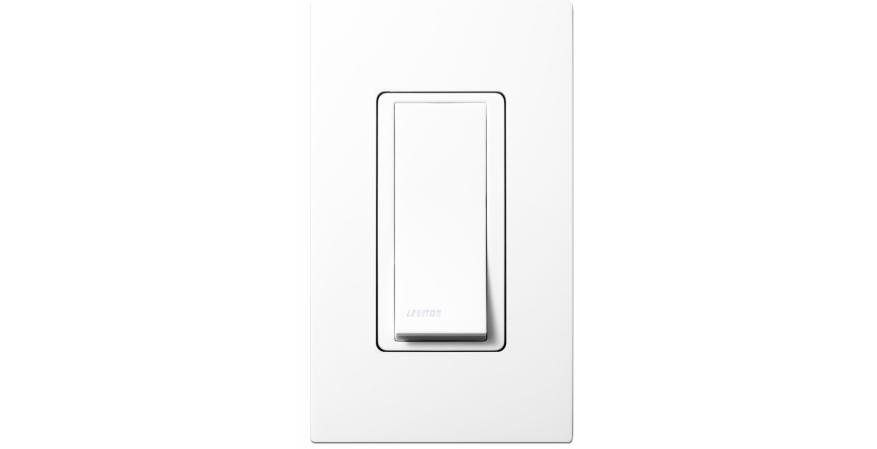 Leviton wall plates and light switches