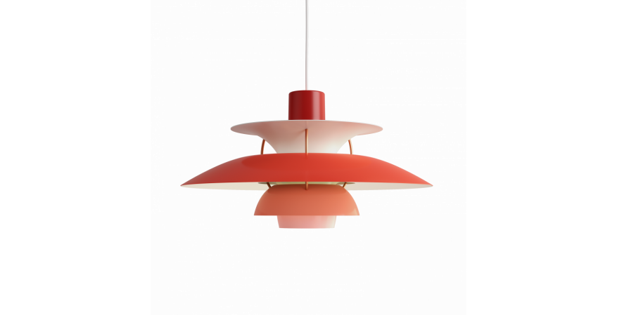 Louis Poulsen 1958 PH 5 lamp design