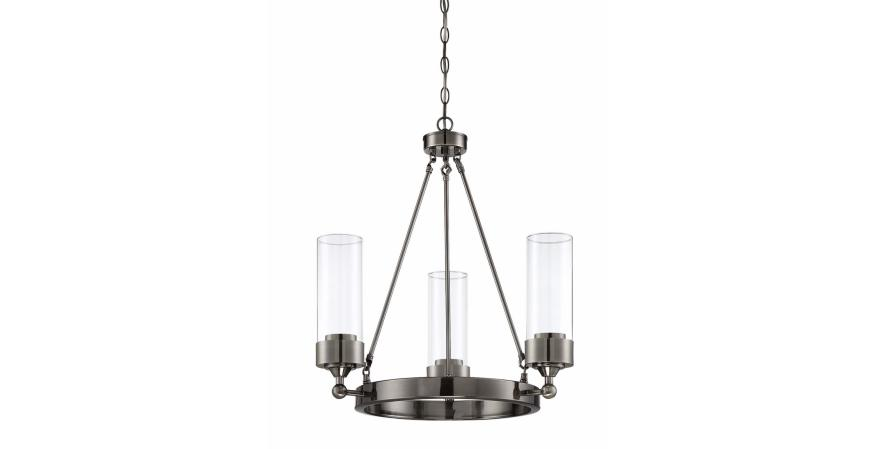 Luminance Esquire 3 Light Chandelier