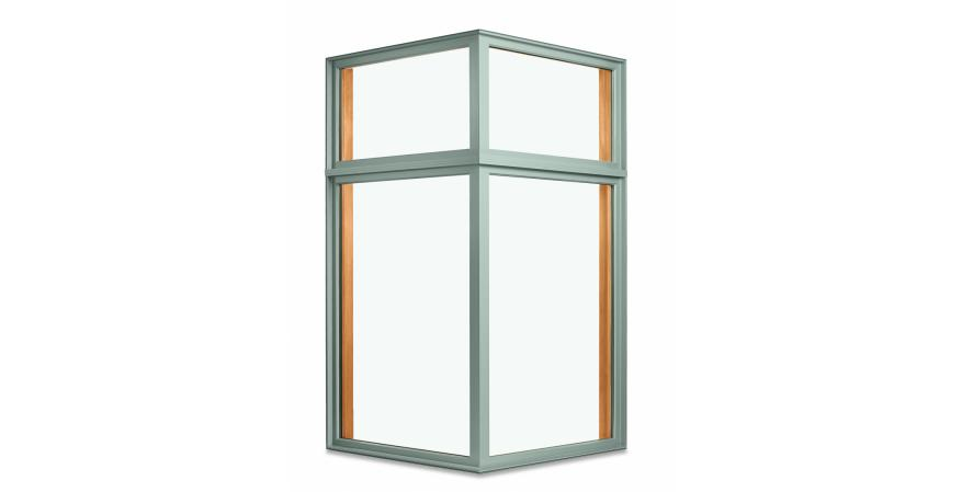 Marvin Windows and Doors 90 degree corner