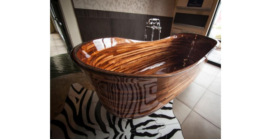 stunning wood bathtubs