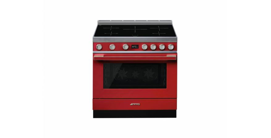 Smeg Portofino in red