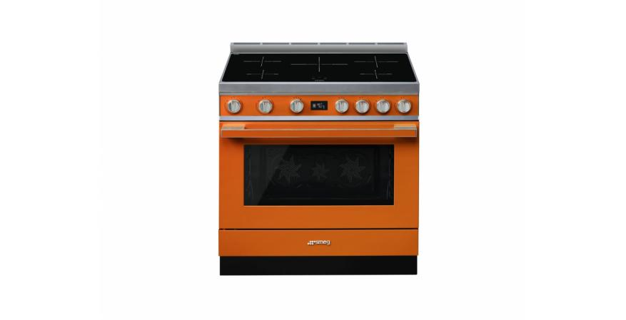 Smeg Portofino in orange