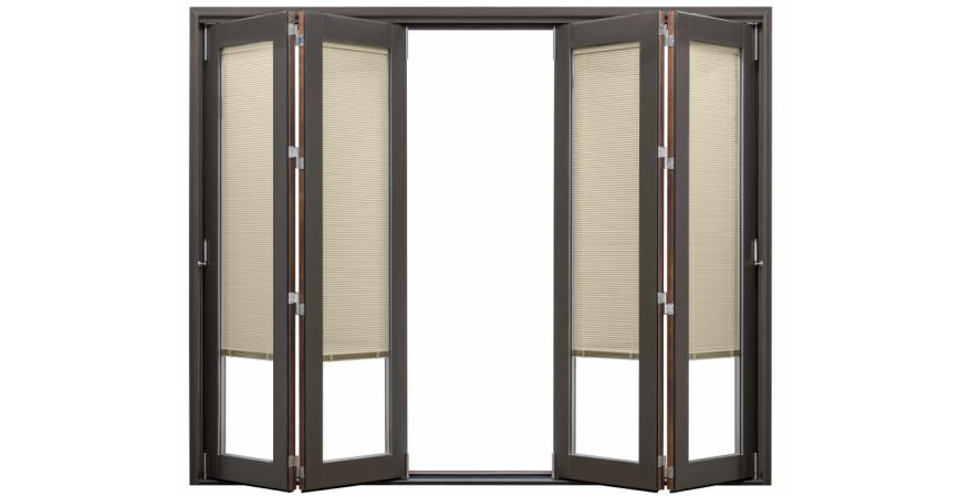 Pella Architect series scenescape collection bifold patio doors