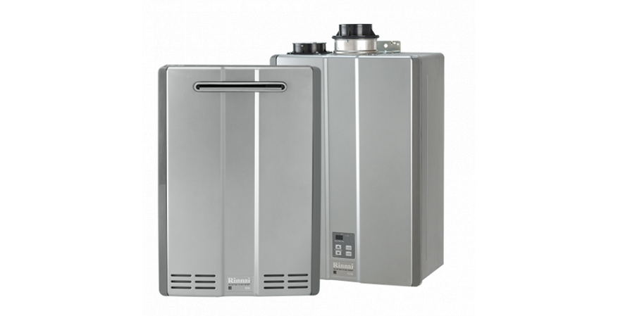 Tankless water heaters don't store, heat, and reheat water, so they use up to 40 percent less energy than traditional tank units, according to Rinnai. In addition, every part of the company's tankless units is replaceable, which allows for easy repairs without having to replace the whole unit. The Energy Star-rated Ultra Series, shown here, has an Energy Factor of up to .96.