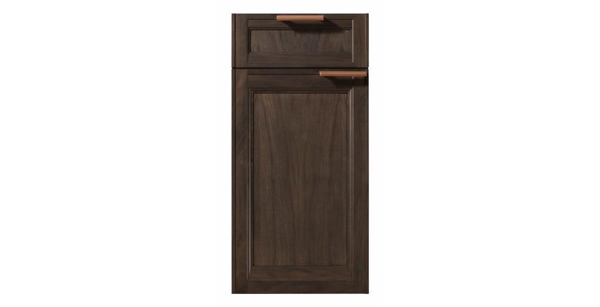 Rutt Exeter Walnut Charcoal cabinet