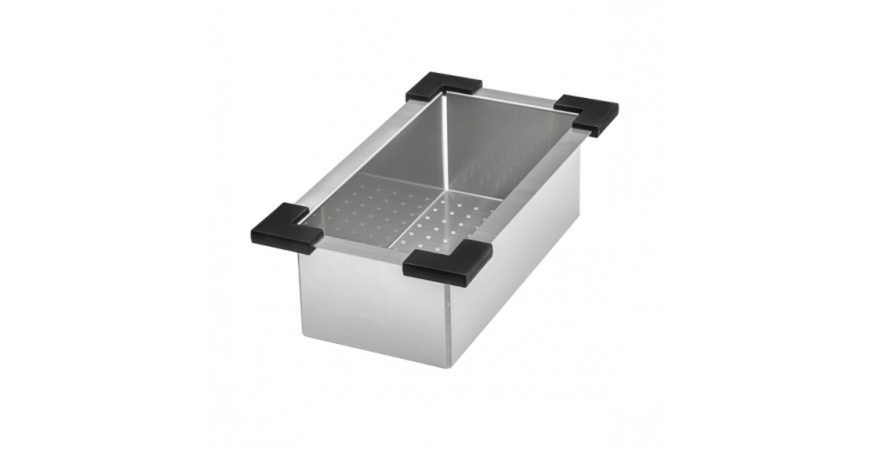 Ruvati Deep Colander Roma Workstation Sink Line