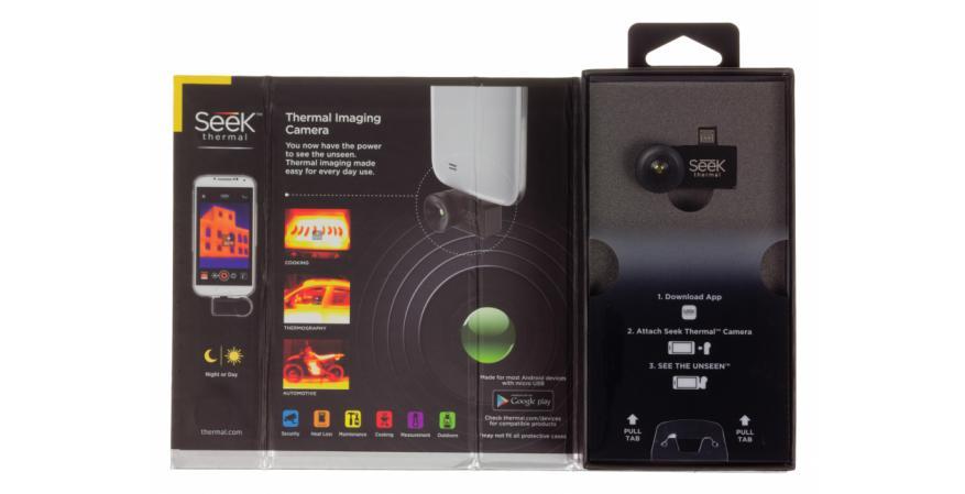 Seek Thermal camera package