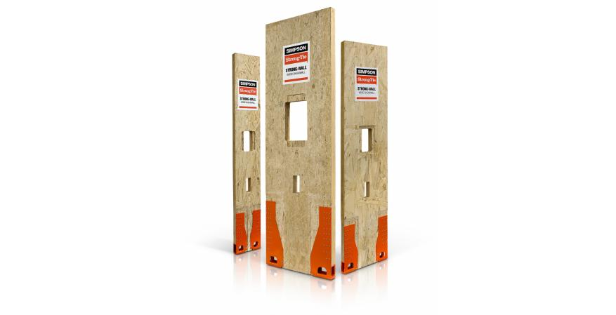 Simpson Strong-Tie Strong-Wall Wood Shearwall made in America