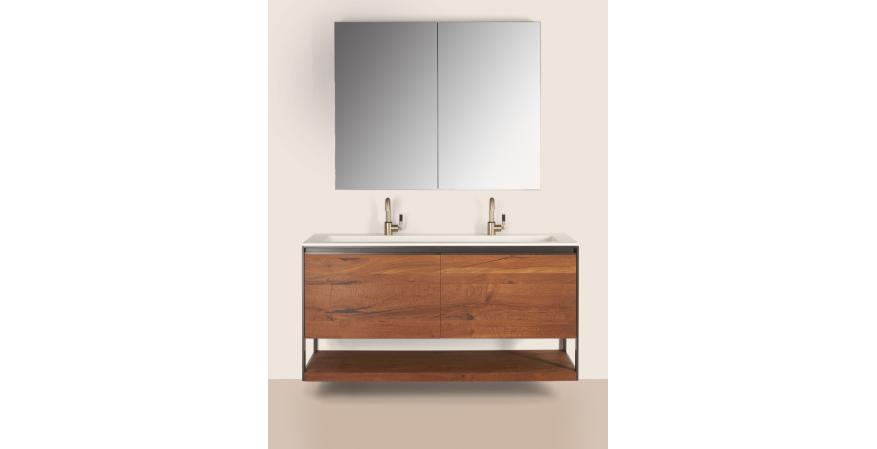 Furniture guild debuts versatile contemporary vanity line for Furniture guild bathroom vanities