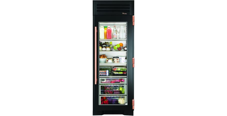 True Refrigeration custom finishes