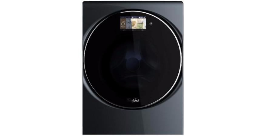 Whirlpool All in one Washer Dryer Combo black silo