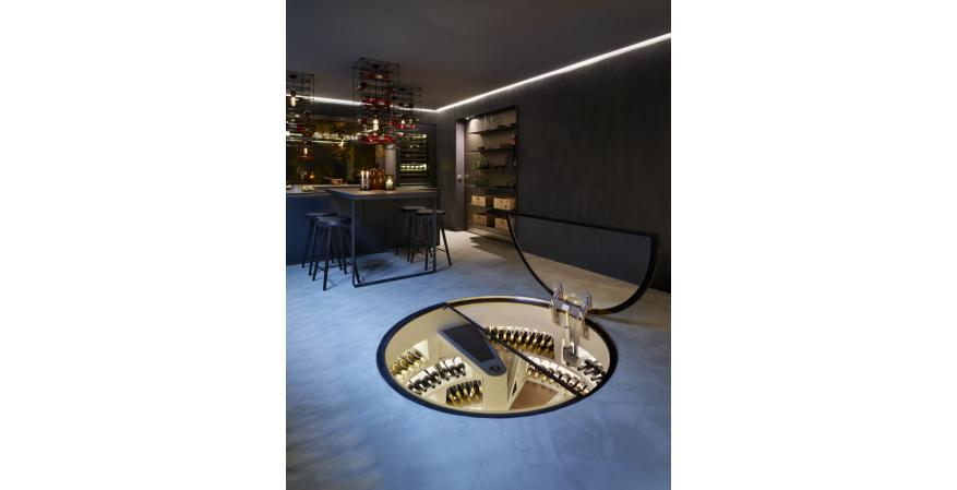 Genuwine Cellars has partnered with United Kingdom-based Spiral Cellars to offer a unique subterranean wine cellar to the North American market.