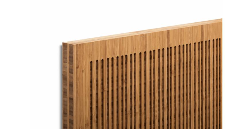 Architectural hardware manufacturer Krownlab and bamboo products maker Smith & Fong have launched a new high-end interior door system called PlybooDoor.