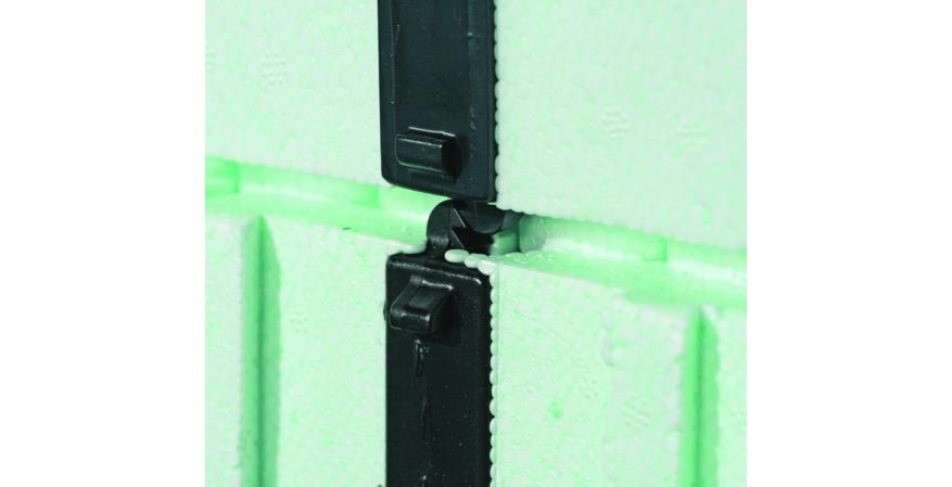 Nudura ICF expanded polystrene panel system