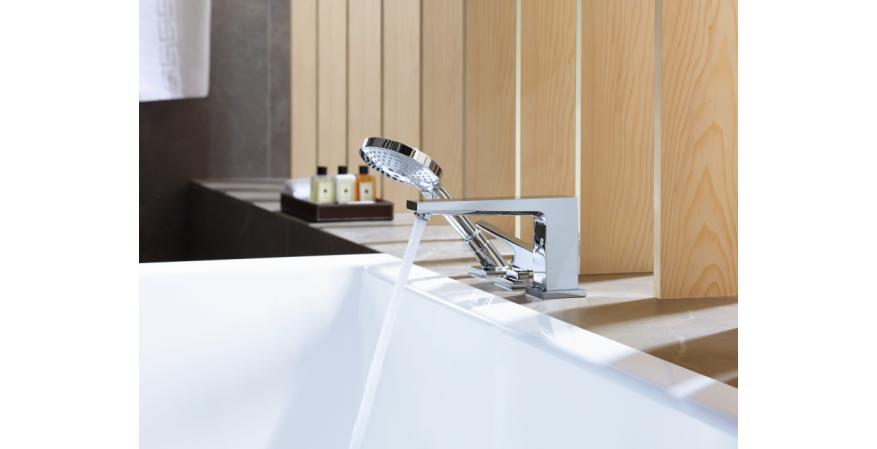 Hansgrohe Metropol 3-Hole Roman tub set