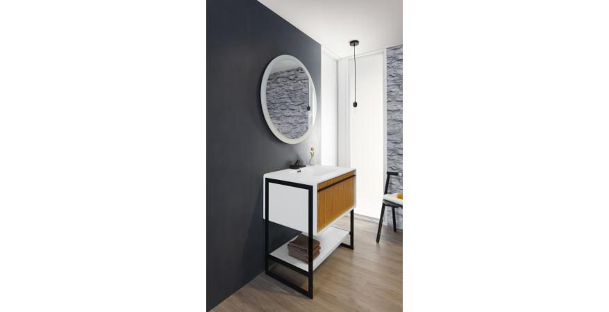 36-inch floor-mount Deco vanity from Wetstyle
