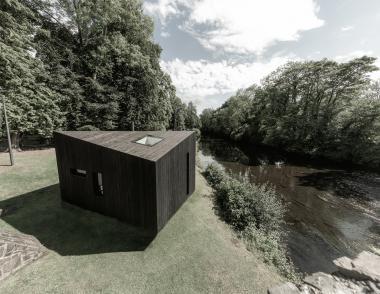 Koto Cabin Exterior Water Side Shot