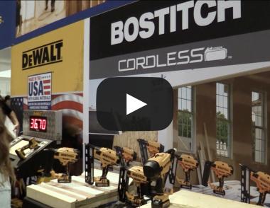 Bostitch Tool at IBS 2018