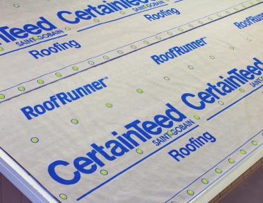 Certainteed RoofRunner Underlayment Customization