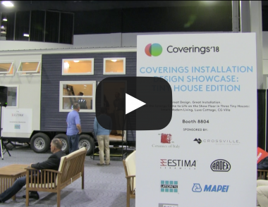 Coverings 2018 Installation Design Showcase, Jeffrey Bruce Baker