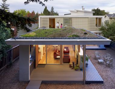 Green Roof by Feldman Architecture