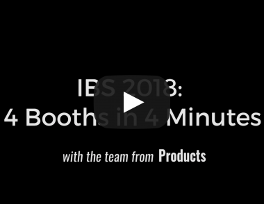 IBS 2018 4 Booths in 4 Minutes