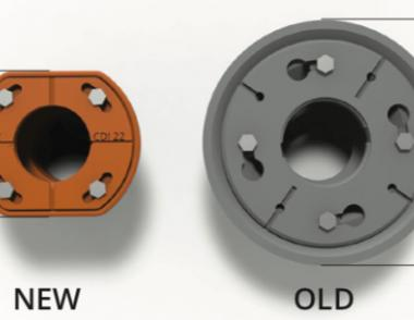 Infinity Drain New Compact Design Old vs. New