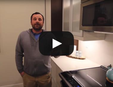 Kody Horvey ikea cabinets video