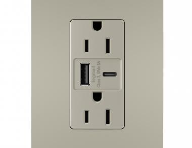 Legrand Ultra Fast USB Outlet Silo