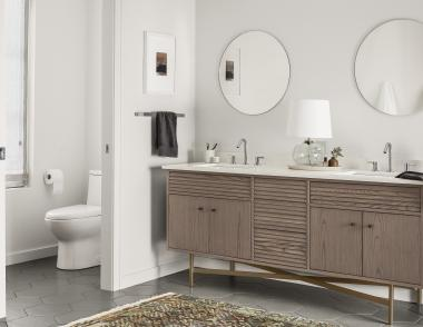 Room and Board Bath Collection adrian Vanity Ash