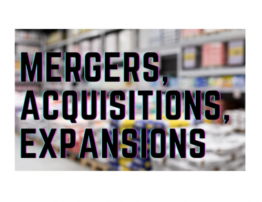 mergers, acquisitions, and expansions of building product manufacturers and distributors