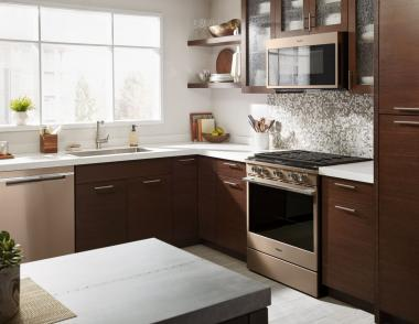 Whirlpool sunset bronze smart appliances