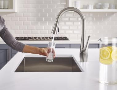 Pfister and GE Clarify faucet