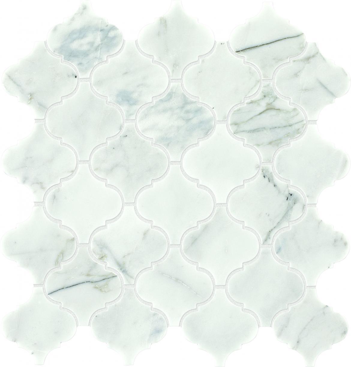 Light-colored Venetian Calacatta tile from Daltile