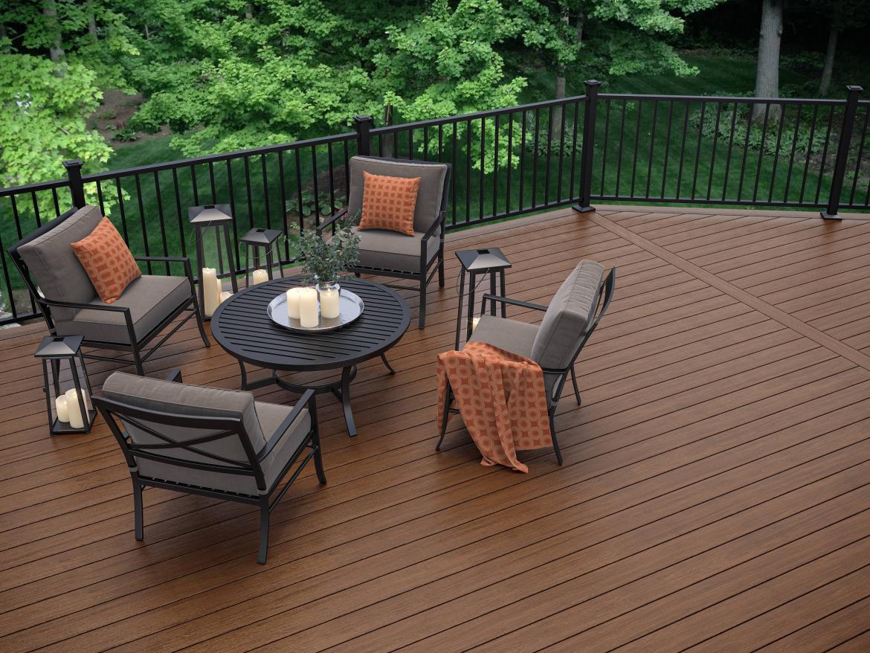 Affordable composite decking