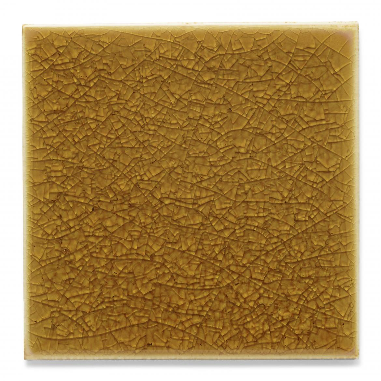 Ann Sacks KohlerWasteLab Recycled Content Ceramic Tiles 4X4 Field tile Amber 1