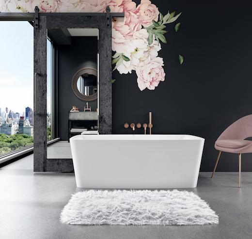 BainUltra Vibe Soaking Tub for small spaces
