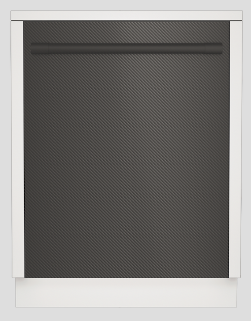 Beko Carbon Fiber Appliances 24-Inch Dishwasher