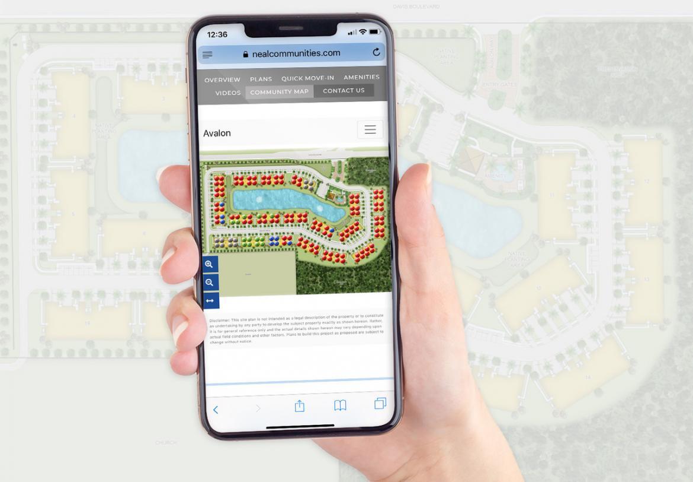 Builder construction site map developer