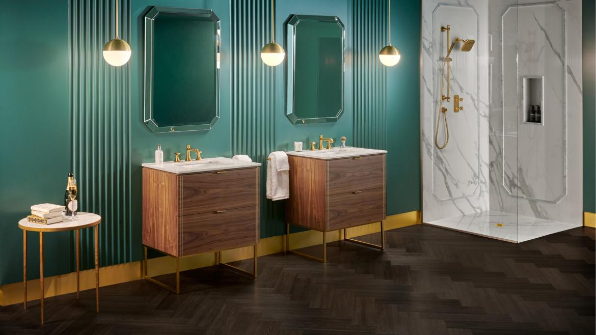 DXV Belshire Bath Collection