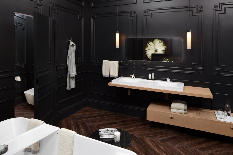 DXV Modulus collection bath accessories