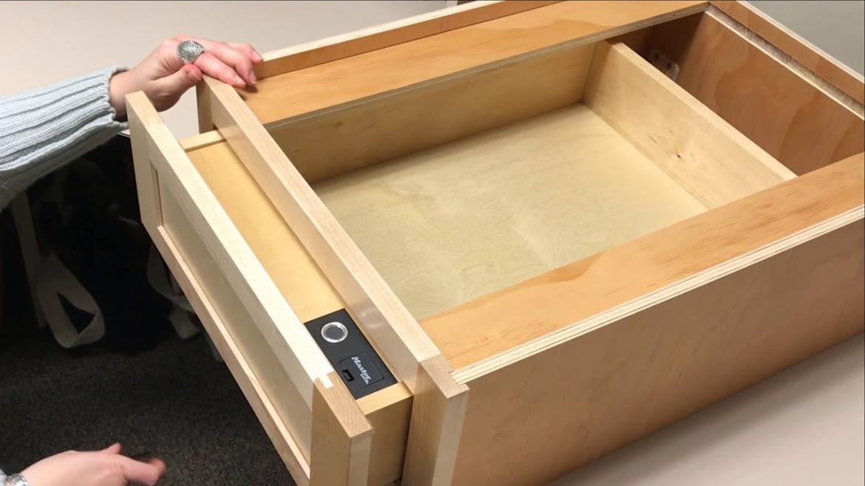 Diamond Cabinets Biometric Drawer