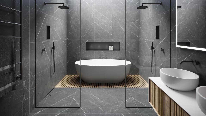 Easy Drain modern luxury bath