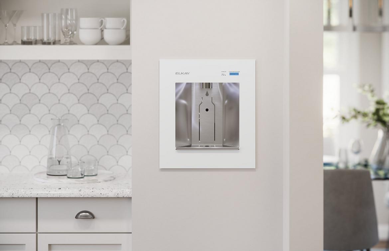 Elkay ezH2O Liv Filtered Water dispenser white