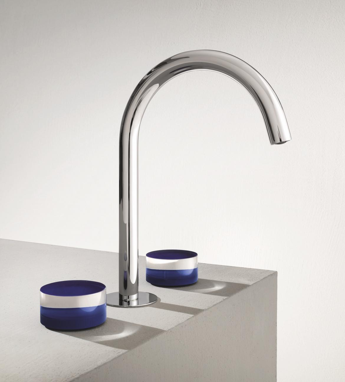 Fantini Nice Collection three hole deck mount faucet