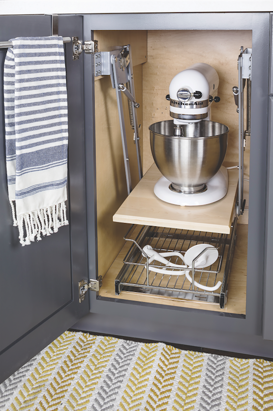 Hardware Resources Introduces Spring Loaded Lift For Heavy Kitchen Residential Products Online