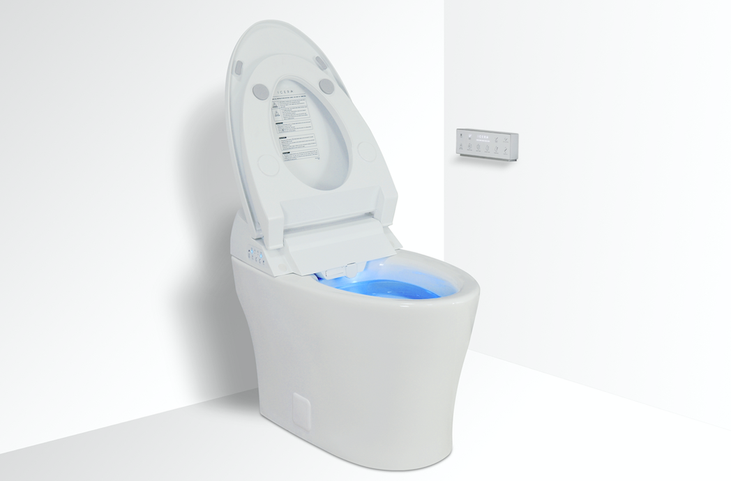 Pleasant Icera Introduces Iwash Integrated Bidet Smart Toilet Products Machost Co Dining Chair Design Ideas Machostcouk